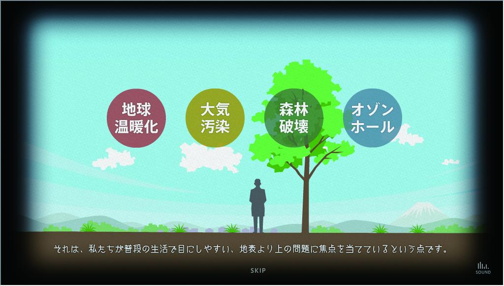 総合地球環境学研究所(アニメーション)